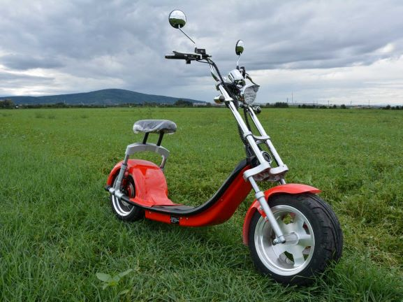 Electricka kolobezka; eco chopper, city coco scooter